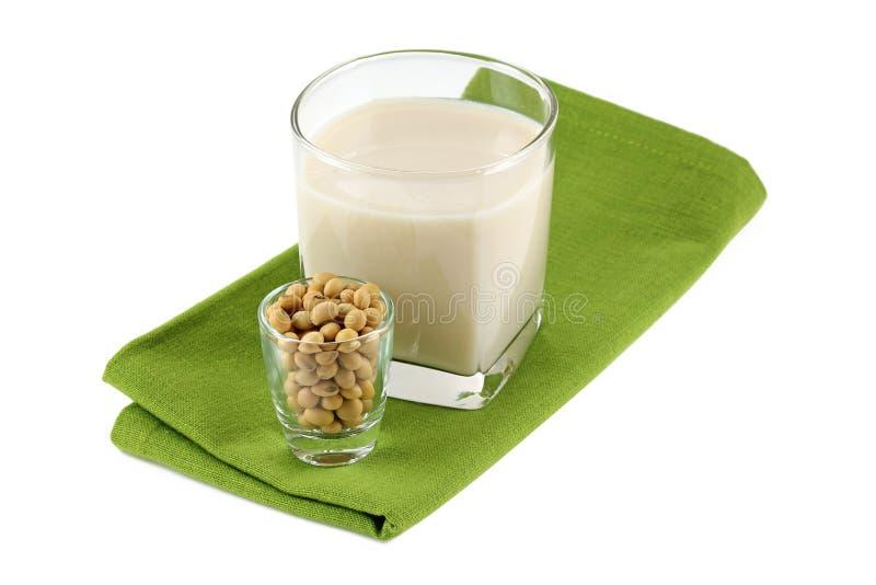 Leche de soja fresca (leche, soja de soja) fotografía de archivo