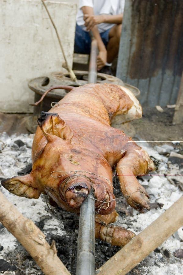 Download Lechon arkivfoto. Bild av pork, metall, stål, stoppa, tråd - 988086