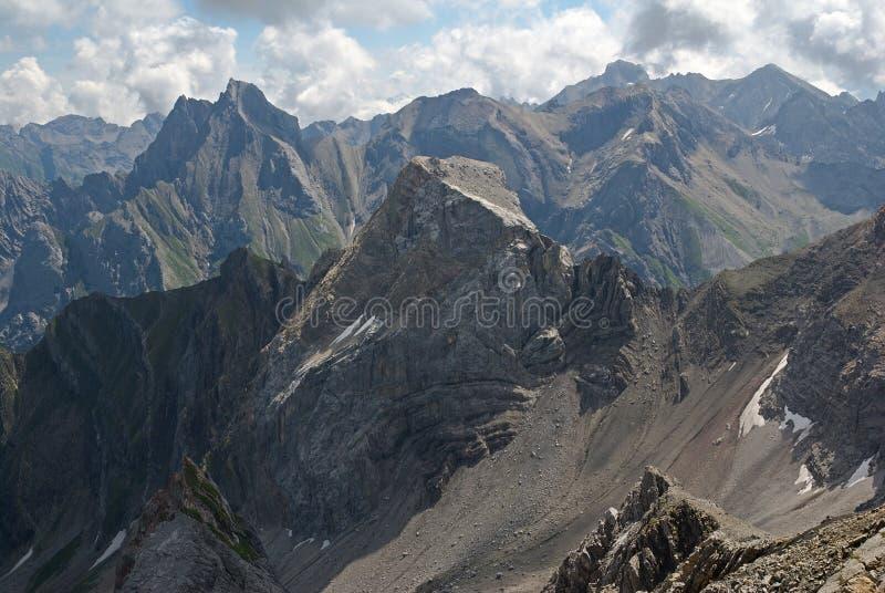 Lechtaler Alpen , Austria royalty free stock photos