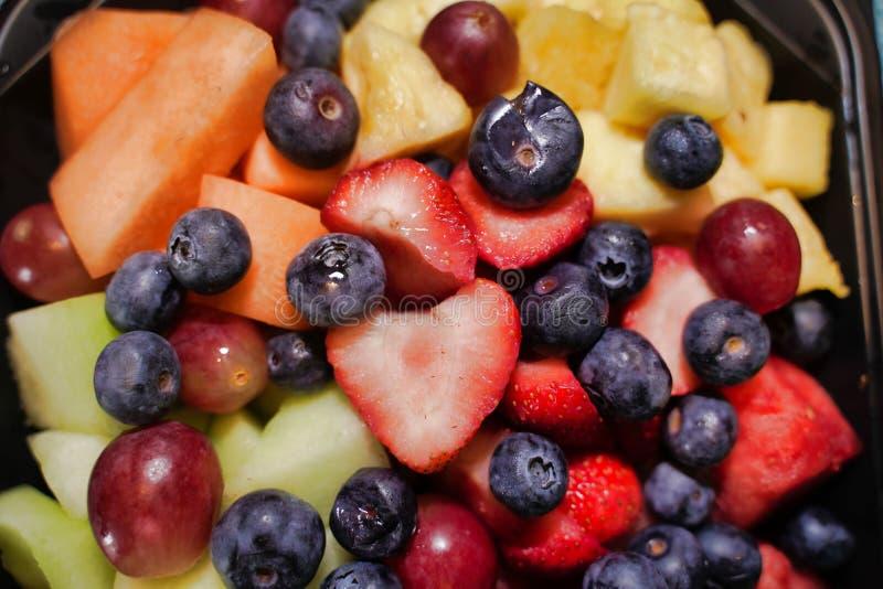 Leckeres geschmackvolles gutes der Früchte stockfotografie