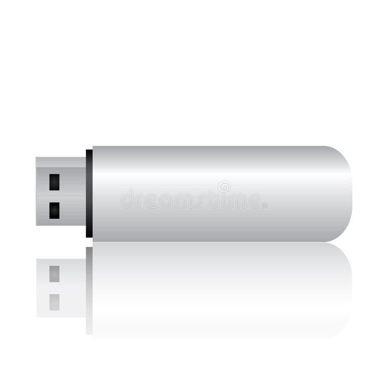 Lecteur d'instantané d'USB illustration de vecteur