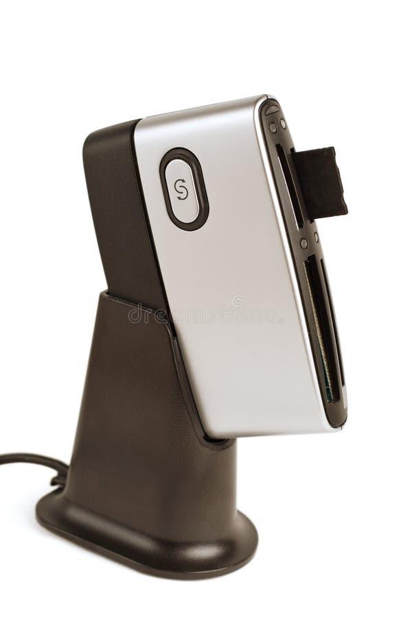 Lecteur de cartes (dispositif) images stock