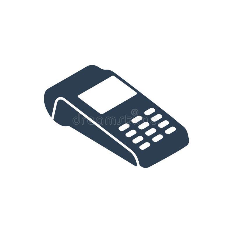 Lecteur de cartes de paiement Icon illustration de vecteur