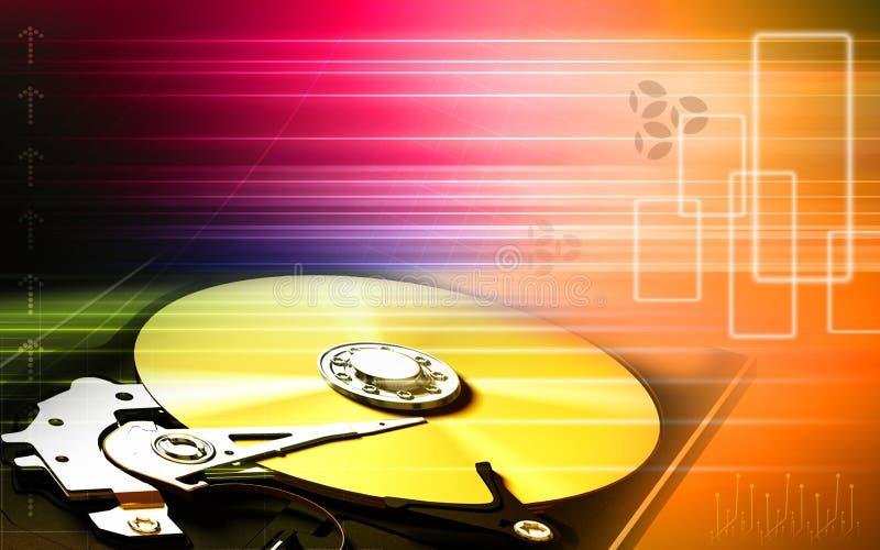 Lecteur de disque compact illustration de vecteur