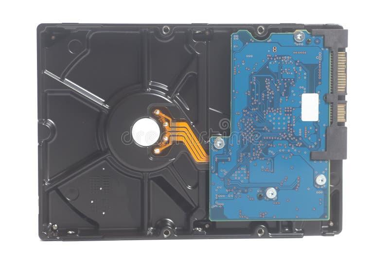 Lecteur de disque dur HDD d'ordinateur photographie stock libre de droits