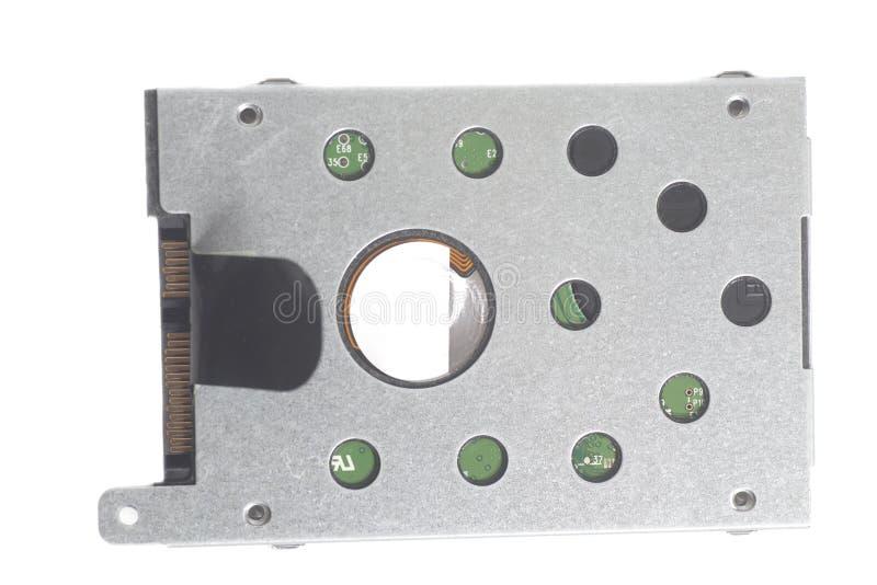Lecteur de disque dur HDD d'ordinateur pour le carnet image libre de droits
