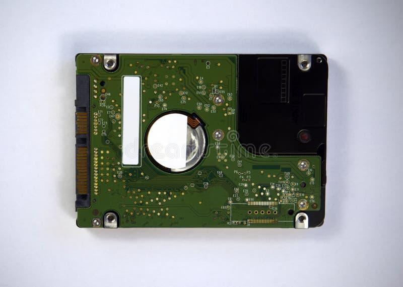 Lecteur de disque dur 2 5 pour l'ordinateur portable d'isolement sur le backgr blanc photographie stock