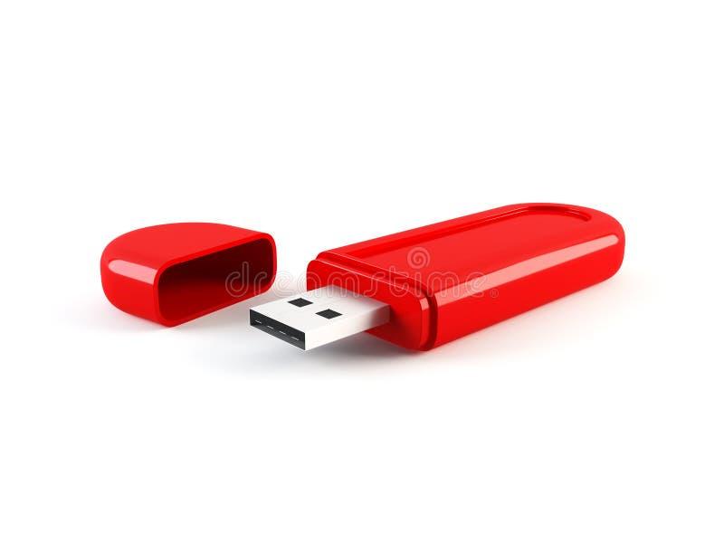 Lecteur de pouce de mémoire d'USB illustration stock