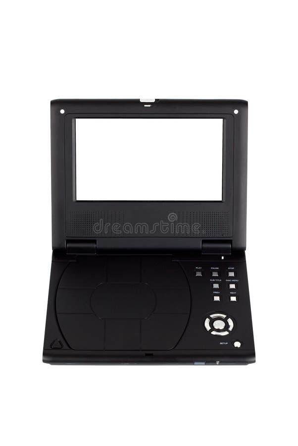 Lecteur DVD portatif photographie stock libre de droits
