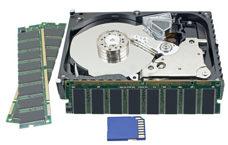 Lecteur HDD de disque dur photo libre de droits