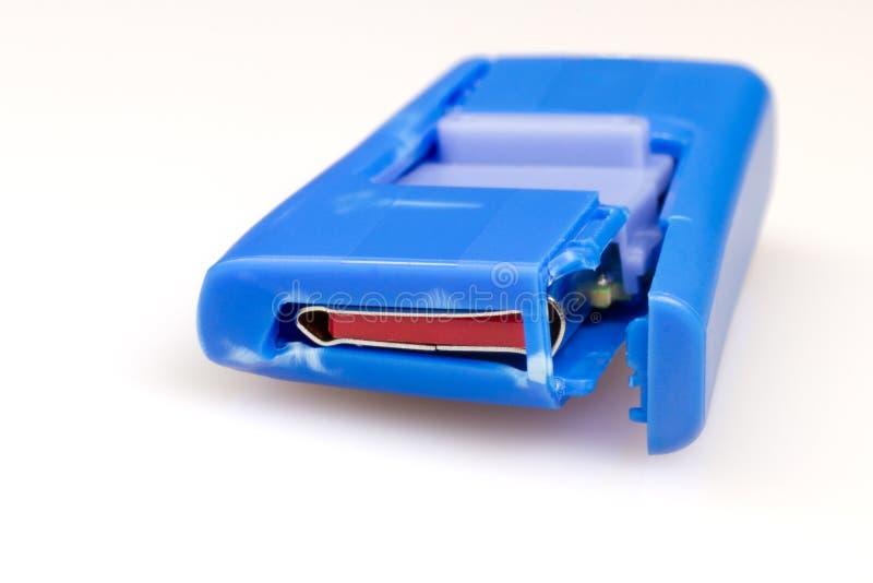 Lecteur instantané endommagé de crayon lecteur d'USB photos libres de droits