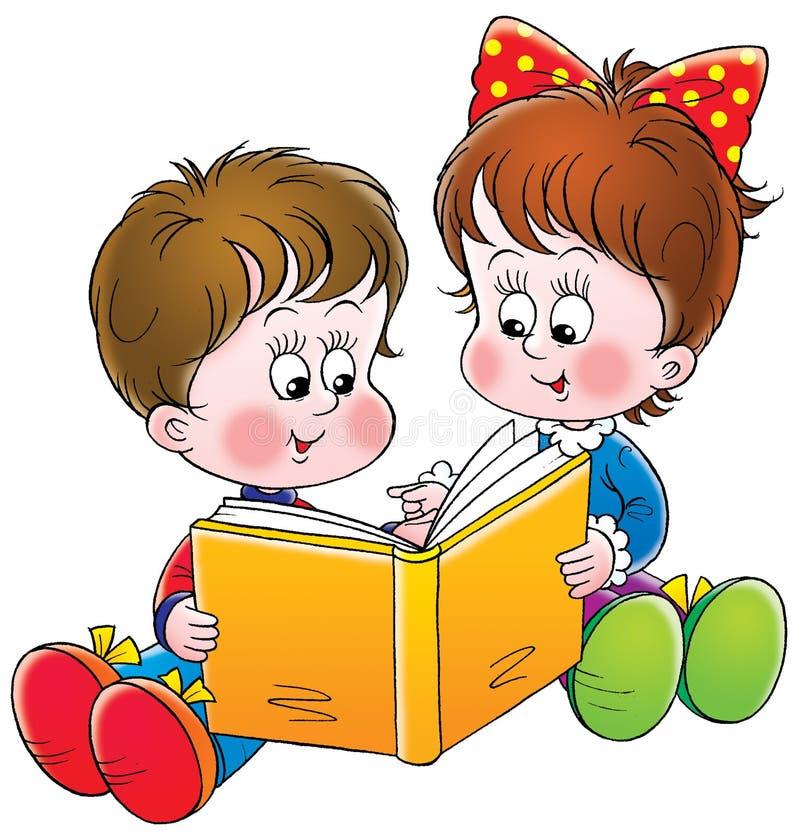 Lecteurs illustration libre de droits