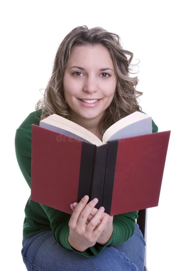Lectura de la mujer foto de archivo libre de regalías