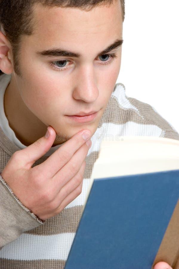 Lectura del estudiante imagen de archivo