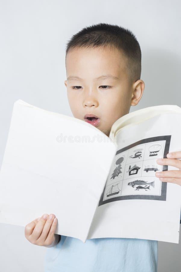Lecture de garçon photos stock