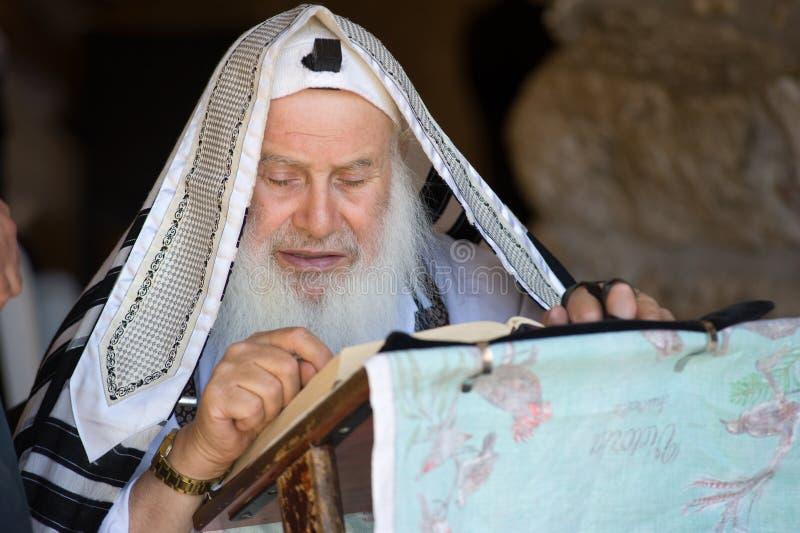 Lecture du Torah images libres de droits