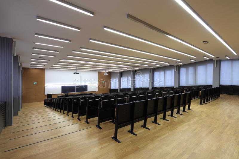 Download Lecture Hall Stock Image - Image: 18555871