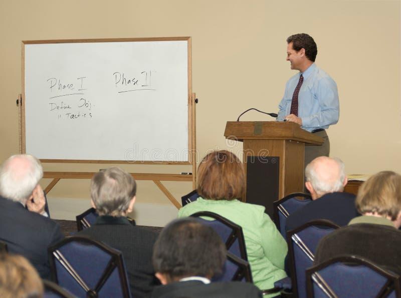 Lecture / Seminar stock photo