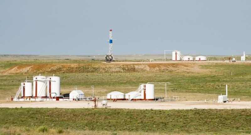 lecz platformy gazu zbiorników zasobnikowych zdjęcia royalty free