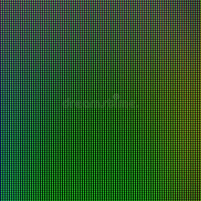 LED从计算机显示器屏幕图表网站模板的显示板点燃 电或技术想法构思设计 库存图片