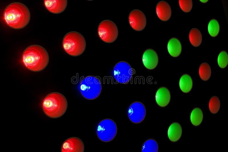 LED光 免版税库存照片