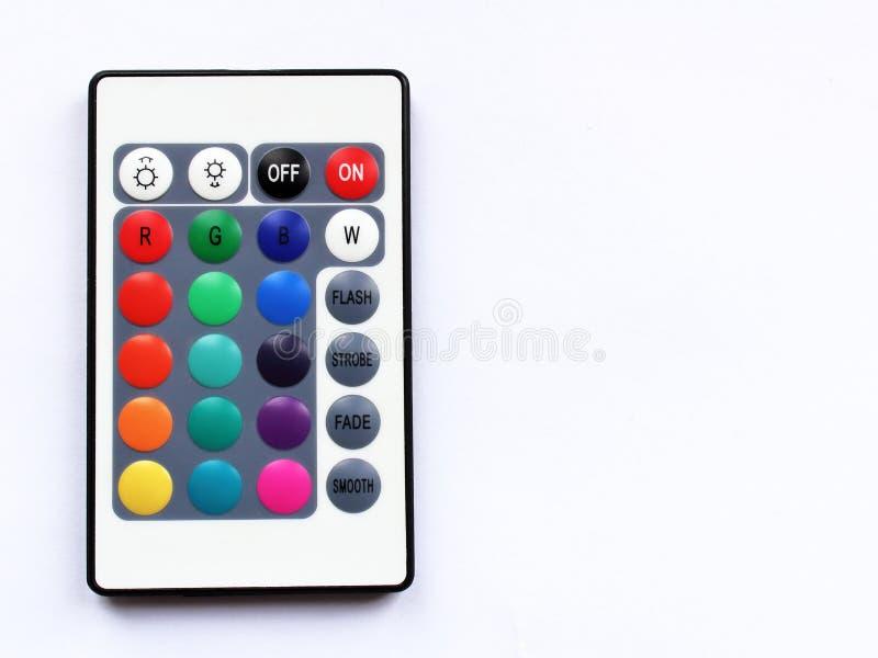 LED天花板照明设备控制单元上面 免版税库存照片