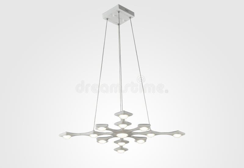 LED天花板照明设备 皇族释放例证