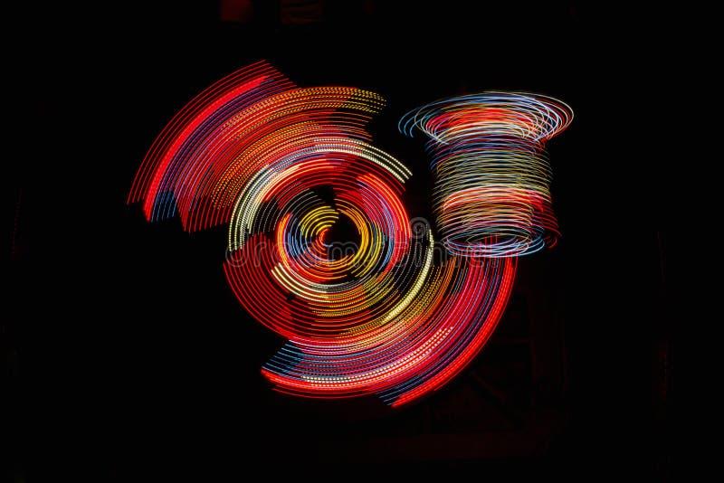 LED抽象 库存照片
