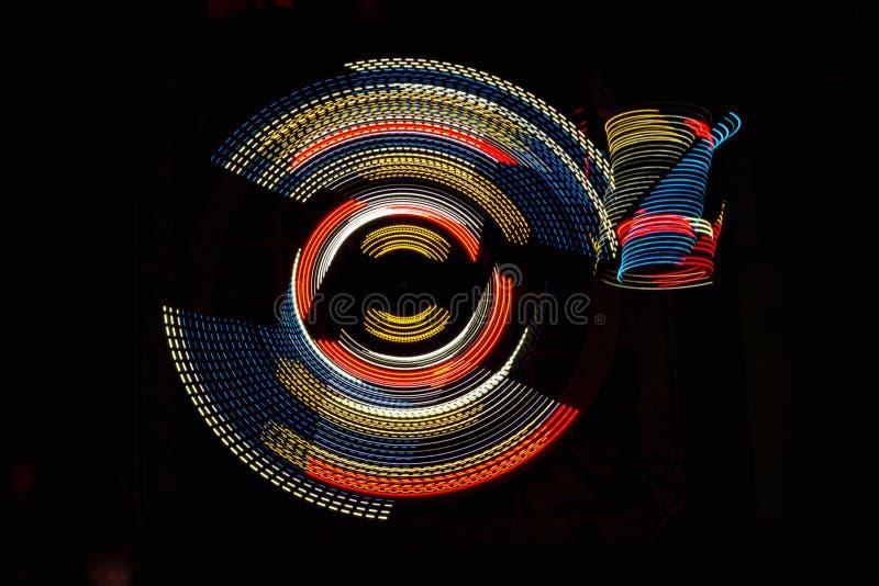 LED抽象 免版税库存照片