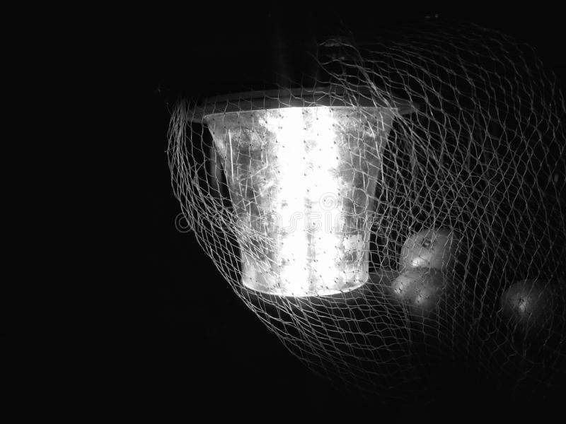 LED灯笼或LED应急灯 库存照片