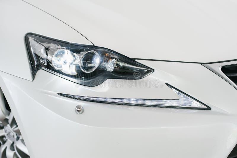 LED车灯 免版税库存照片