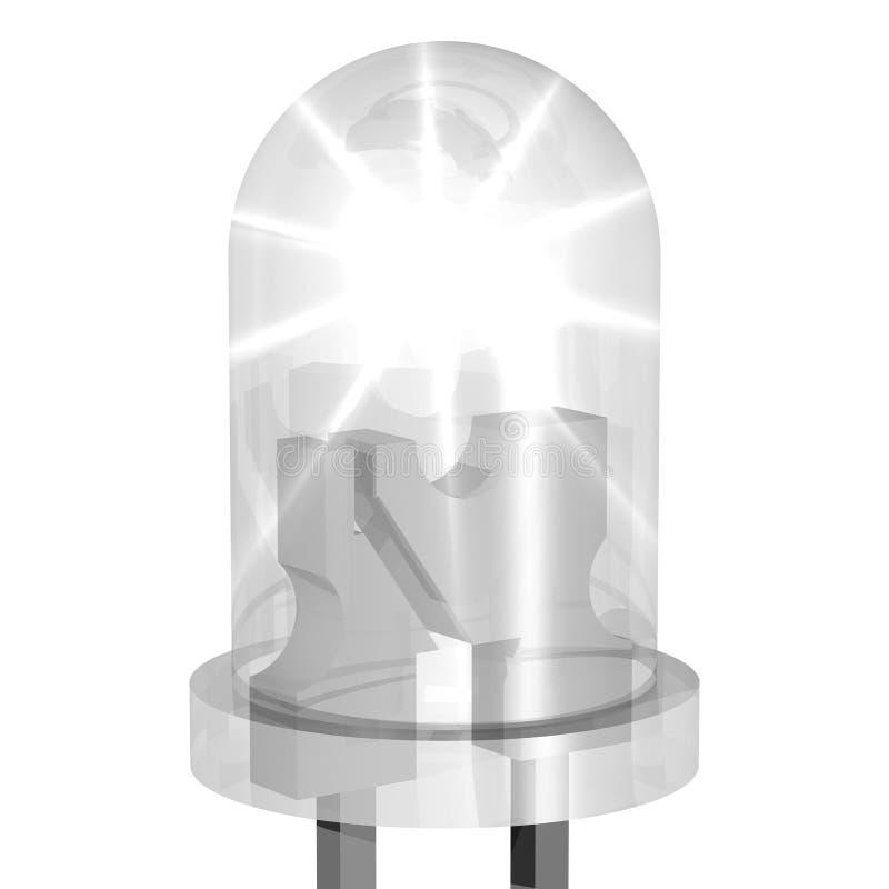 LED brillante libre illustration