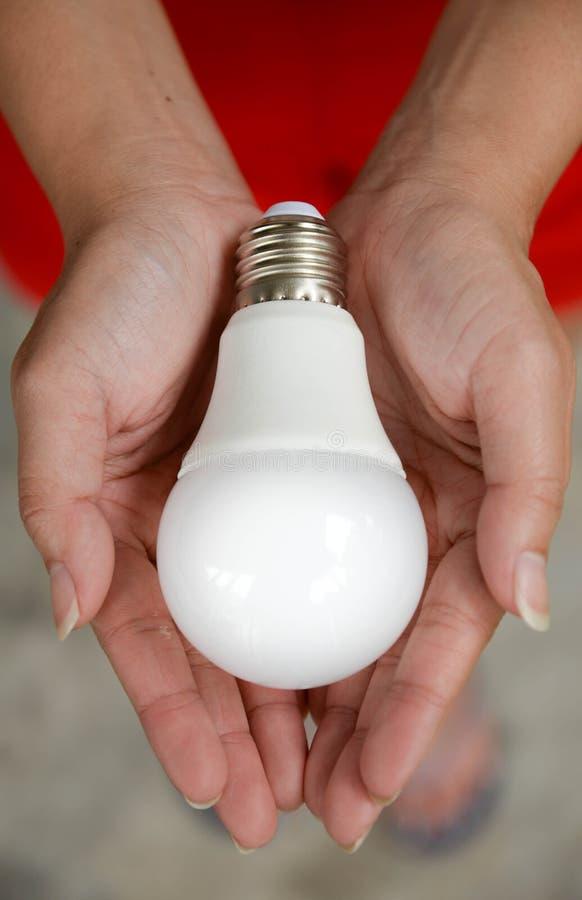 LED bulb royalty free stock images
