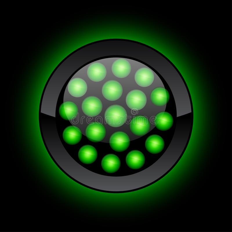 Free LED Button. Stock Image - 12740891