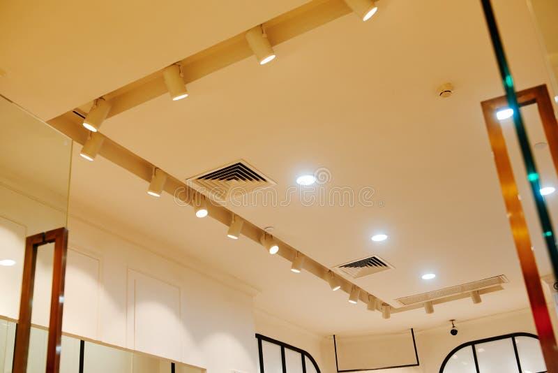 led ceiling light royalty free stock image