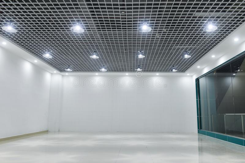 Led ceiling lights on modern commercial building ceiling stock image download led ceiling lights on modern commercial building ceiling stock image image of building mozeypictures Image collections