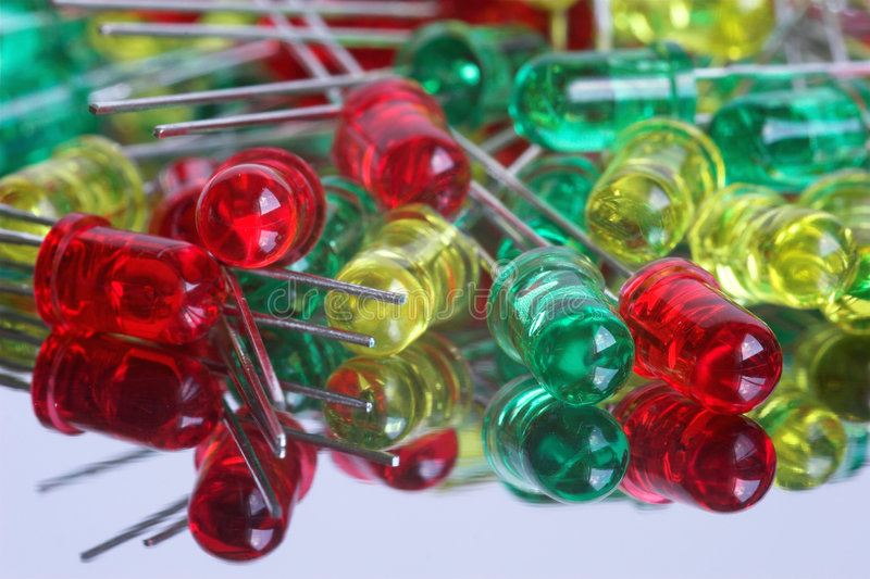 LED diode royalty free stock image