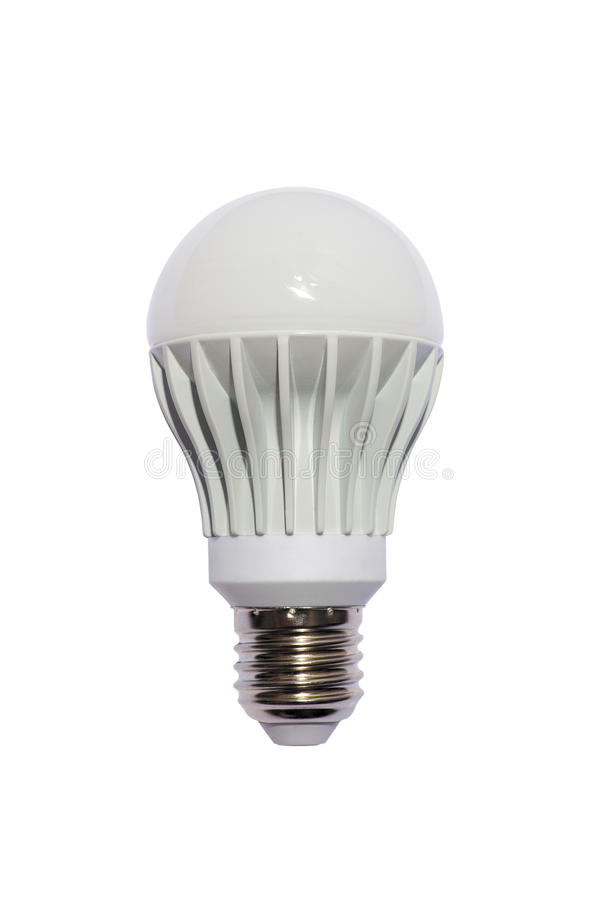 LED Energy Safing Bulb. A60 E27. Isolated Object Royalty Free Stock Photos