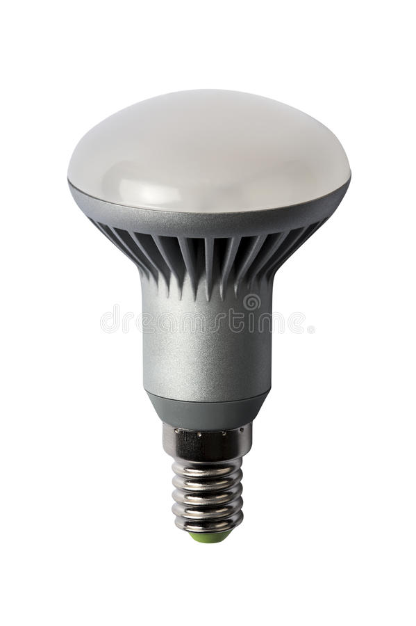 Download LED Energy Safing Bulb. R50 E27. Isolated Object Stock Photo - Image: 23329562