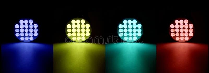 LED-Farben lizenzfreie stockfotografie