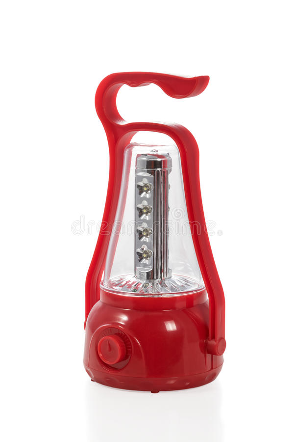LED lamp for tourist royalty free stock image