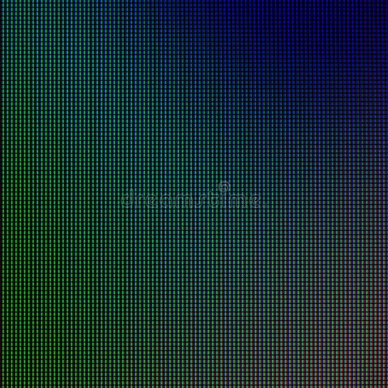 LED-Lichter vom LED-Computerbildschirmanzeigefeld f?r grafische Websiteschablone Strom- oder Technologieentwurf stockfoto
