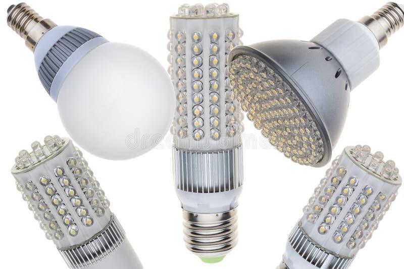 LED light bulb stock images