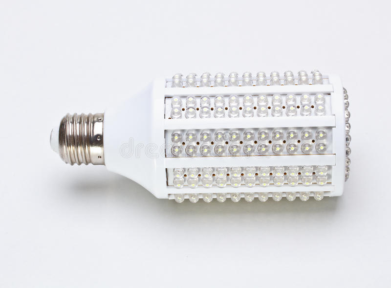 LED Light Bulb Royalty Free Stock Photography