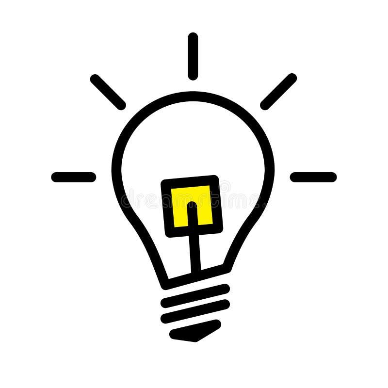 Led Light Bulb Lamp Stock Vector Illustration Of Efficient 114344295