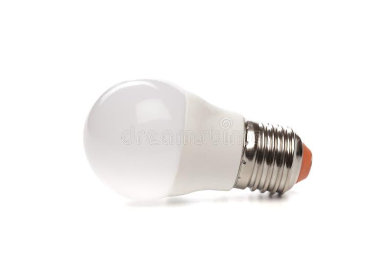 LED light bulb New technology isolated on white background, Energy saving electric lamp is good for environment. - Image. LED light bulb New technology isolated stock photos