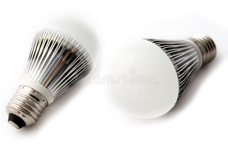 LED Light Bulbs Stock Photos