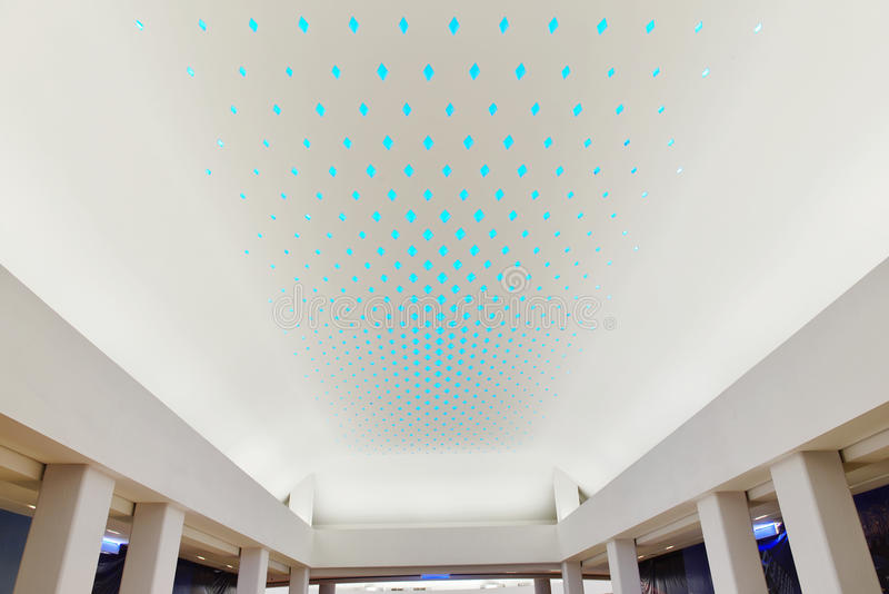 Led light used on giant modern commercial building ceiling stock download led light used on giant modern commercial building ceiling stock illustration image 53946081 mozeypictures Images