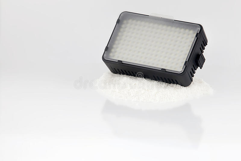 Led light for video makers royalty free stock image