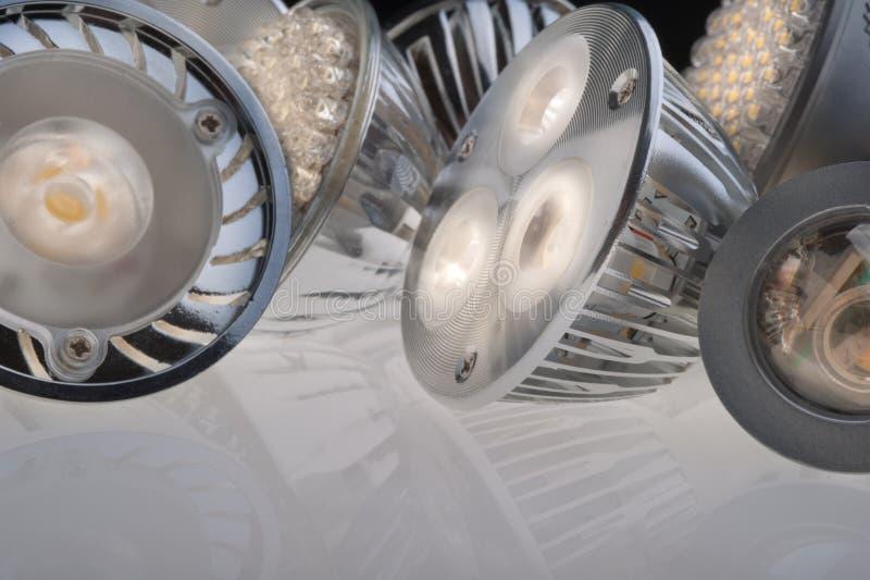 Download Led lights bulb stock photo. Image of metal, studio, lighting - 18838362